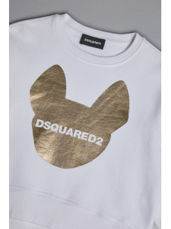 DSQUARED2 D2 Dog Sweatshirt...