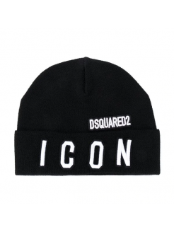 DSQUARED2 BEANIE ICON BLACK...