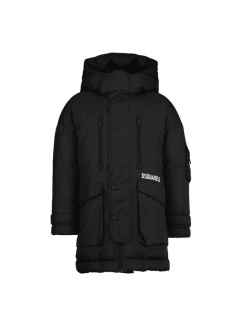 DSQUARED2 ANORAK BLACK...